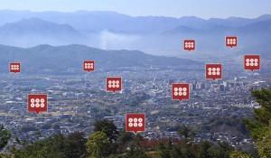 第一次上田合戦(神川合戦)マップ