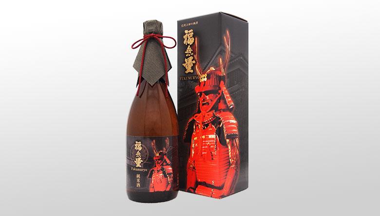 【地酒】福無量 純米酒《真田幸村》甲冑ラベル