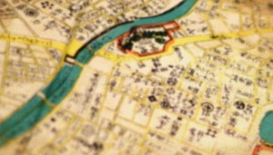 上田市の江戸時代の絵図・古地図