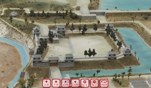 上田城の7つのやぐらを再現