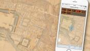 江戸元禄時代の上田城地図上で自分の位置がわかる